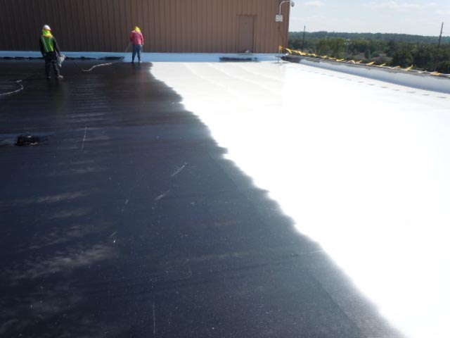Sears Distribution Center - Primed & Coated TPO - Lawrence, KS